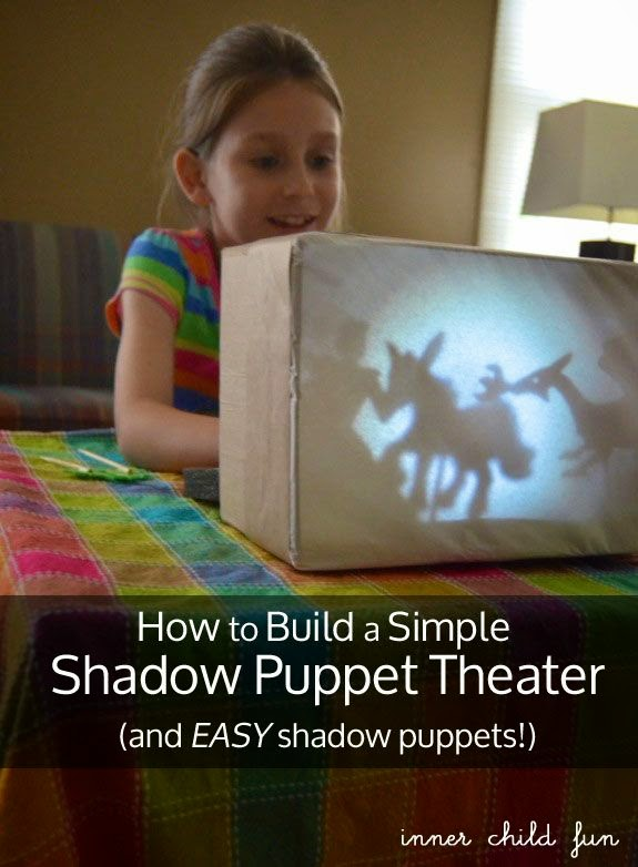 recycle puppet theatre diy