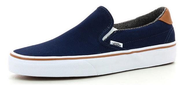vans Slip-On classic blue