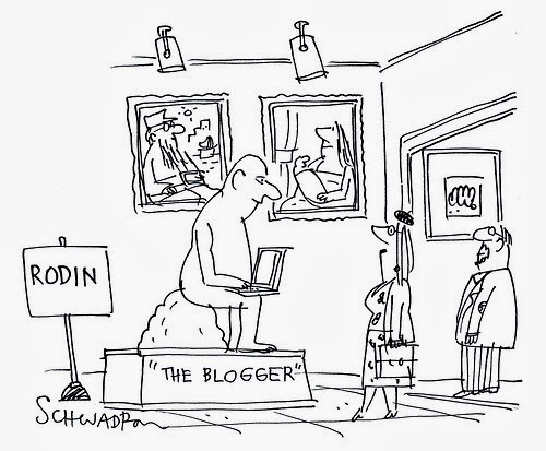 The blogger