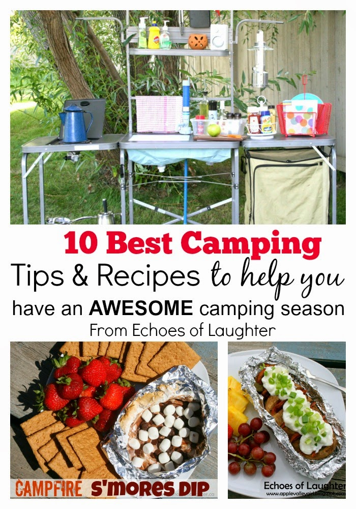 10 Best Camping Tip & Recipes