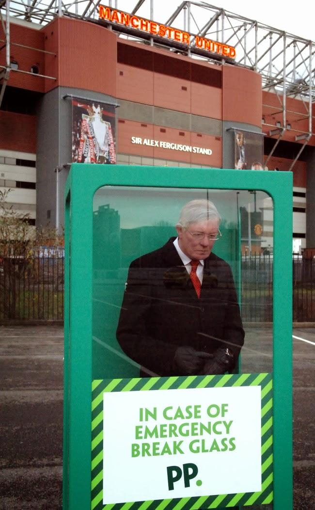 Alex Ferguson Wax Dummy at Old Trafford