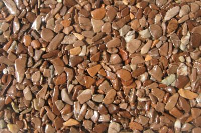 Gravier de marbre gravier de marbre marrone mogano for Gravier de marbre