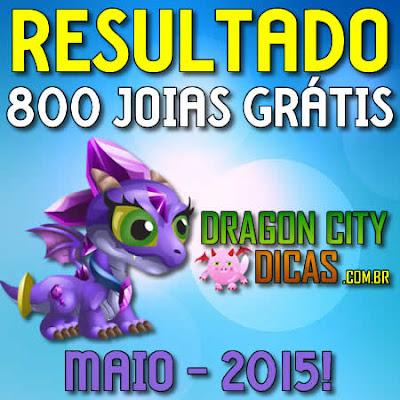 Resultado do Super Sorteio de 800 Joias - Maio 2015