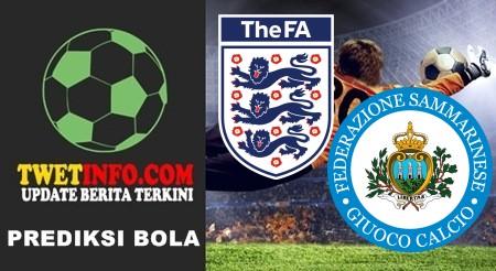 Prediksi England U17 vs San Marino U17