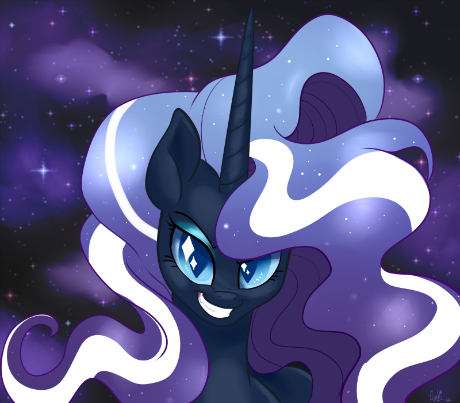 Always take suggestions on Tumblr to draw Nightmare Rarity