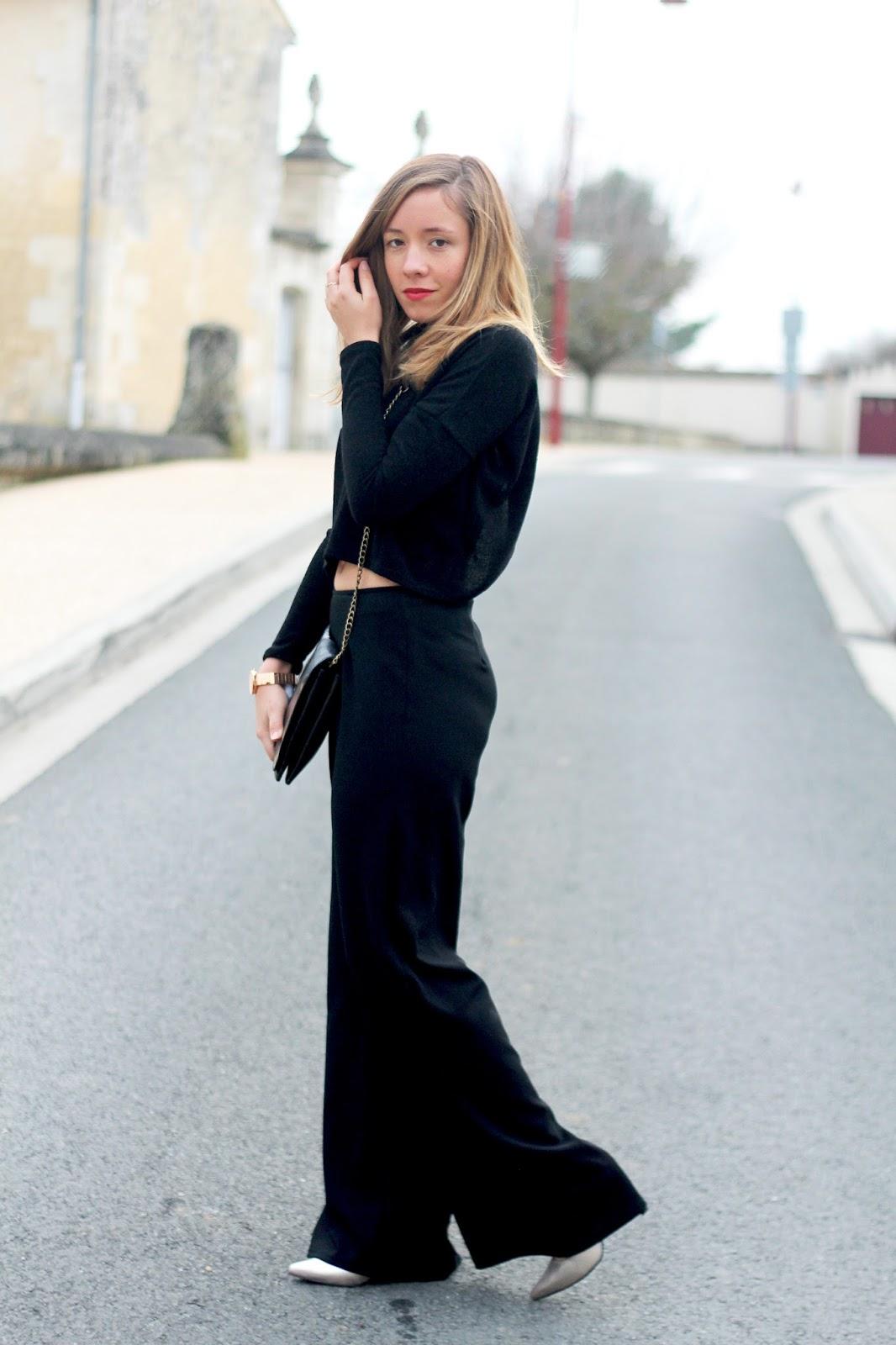 tenue soirée look noir