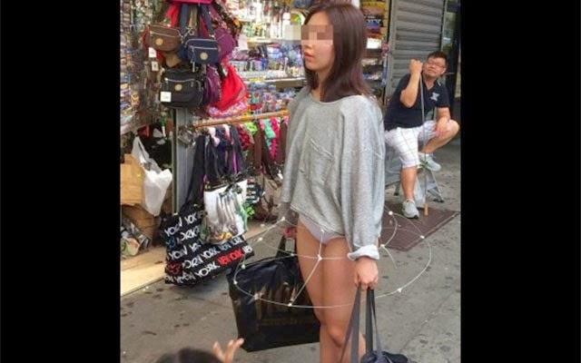 Inilah Skirt Paling Istimewa Hingga Nampak Seluar Dalam Dari Luar