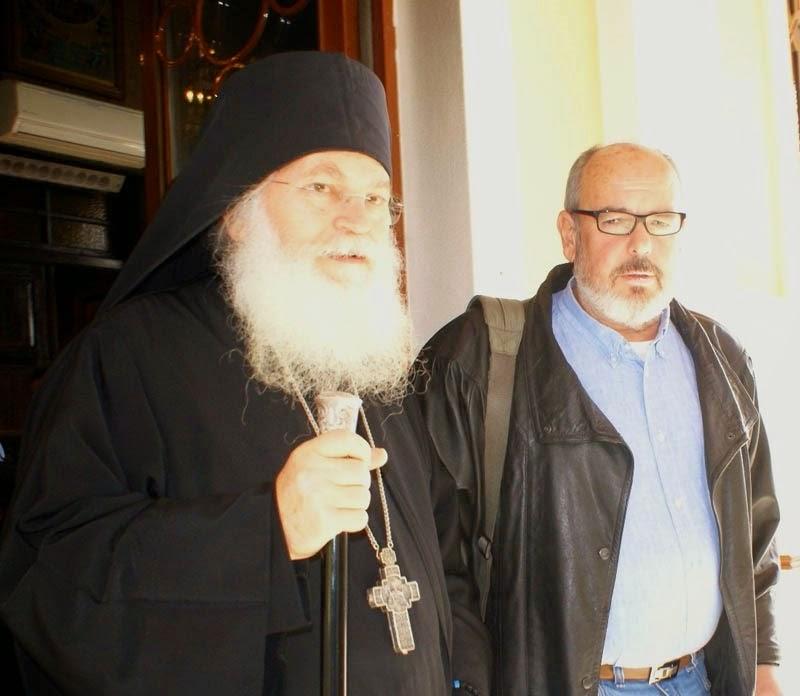 Συνέντευξη του Καθηγουμένου της Ι. Μ. Βατοπαιδίου Γέροντος Εφραίμ στον Αλέξανδρο Κολλιόπουλο.
