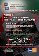 Conferencia sobre «Protección de los DDHH en el Sáhara Occidental ocupado»