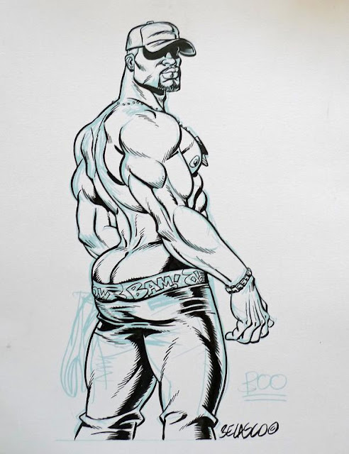 MALE DRAWING ART BLOG : BELASCO COMIX
