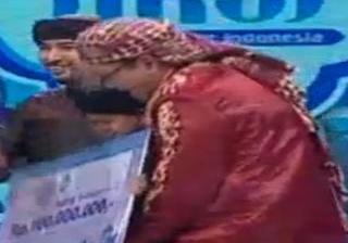 Mumuy Pemenang Aksi indosiar mendapat Hadiah uang tunai 100 juta