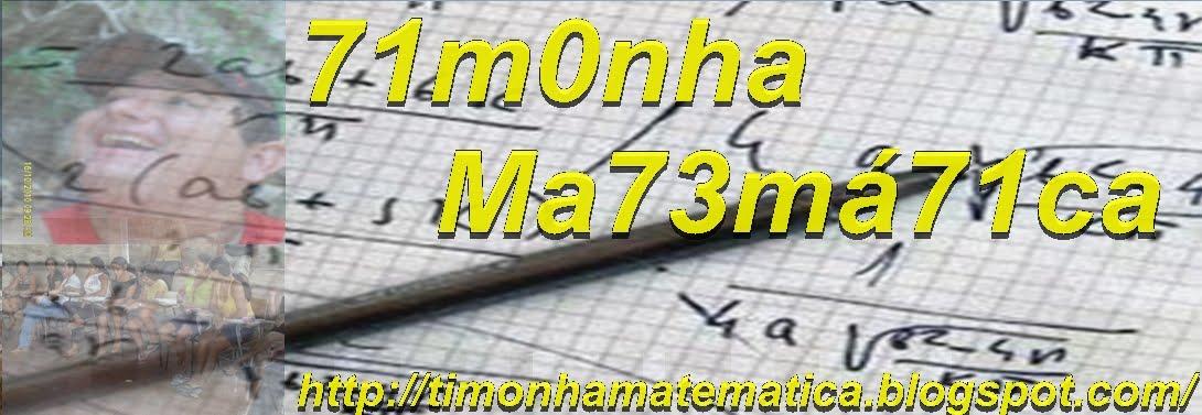 Timonha Matemática