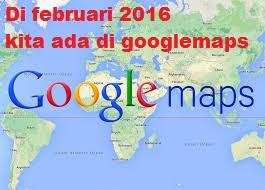 kita ada di google maps