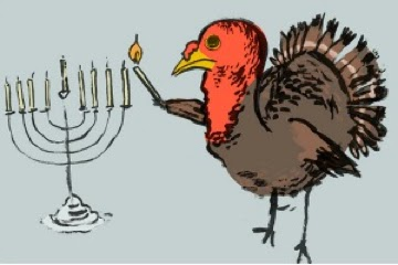 Ginger Kauffman: Happy Thanksgivukkah!