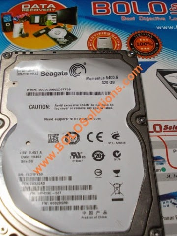 RECOVERY HARDDISK SEAGATE MOMENTUS 320GB CHINA