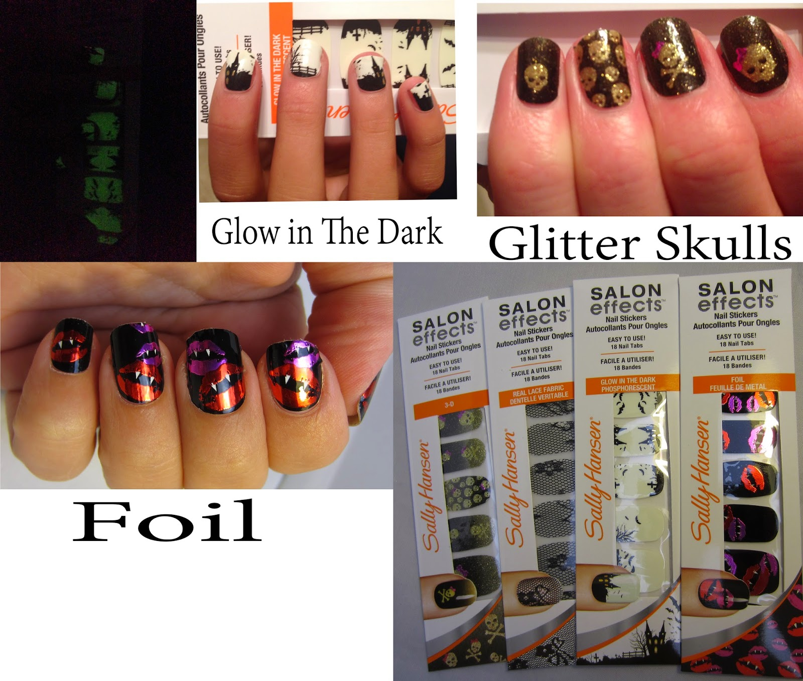 The Manicured Monkey: Sally Hansen: Salon Effects Nail Stickers ...