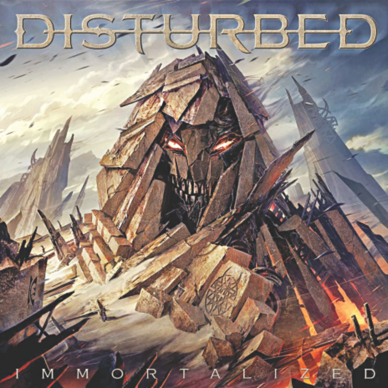 Vissza-a-a-a-térés - Disturbed - Immortalized (2015)