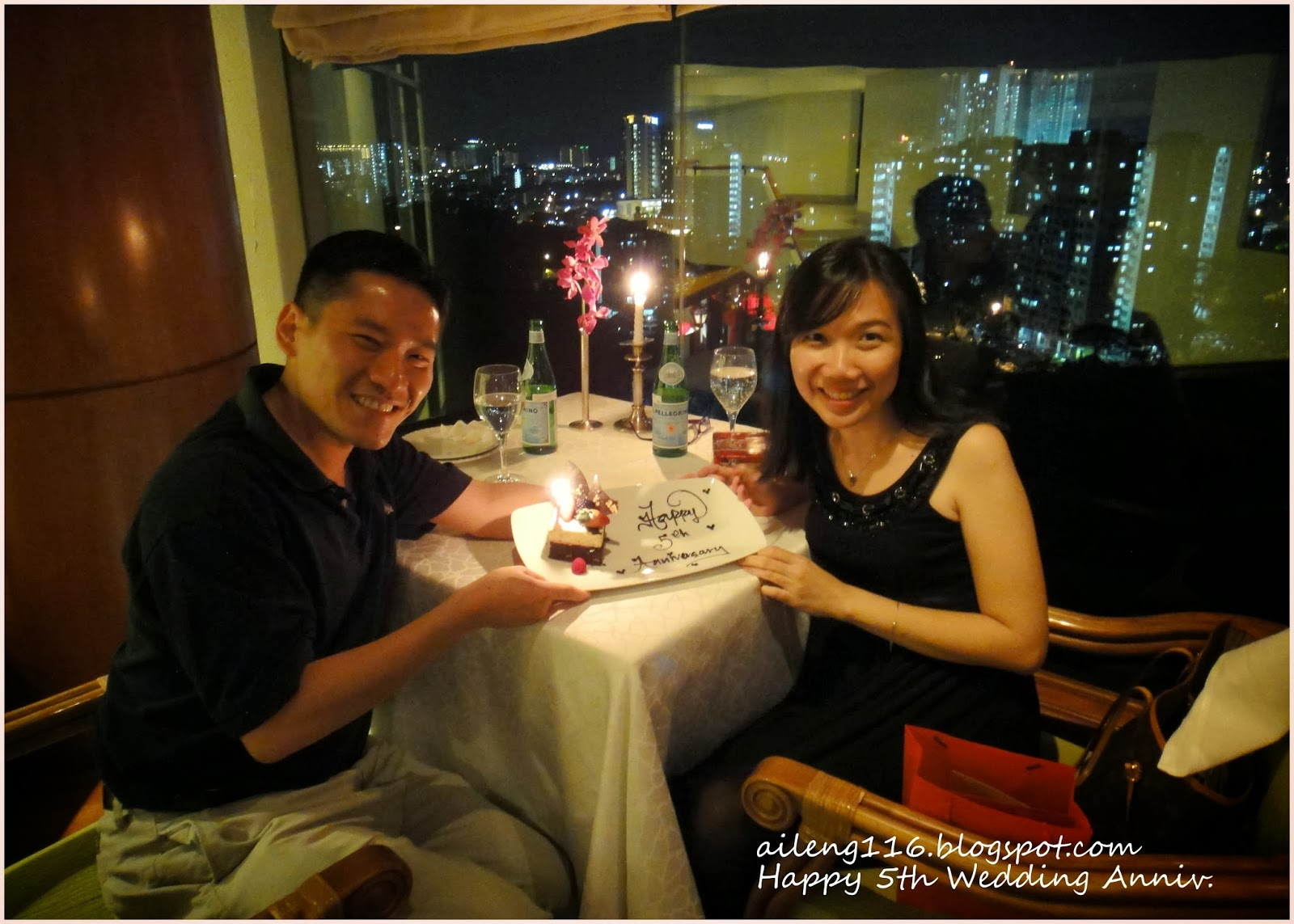 On our second wedding anniversary chaegundaan restaurant part