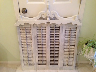 shutter repurposing ideas