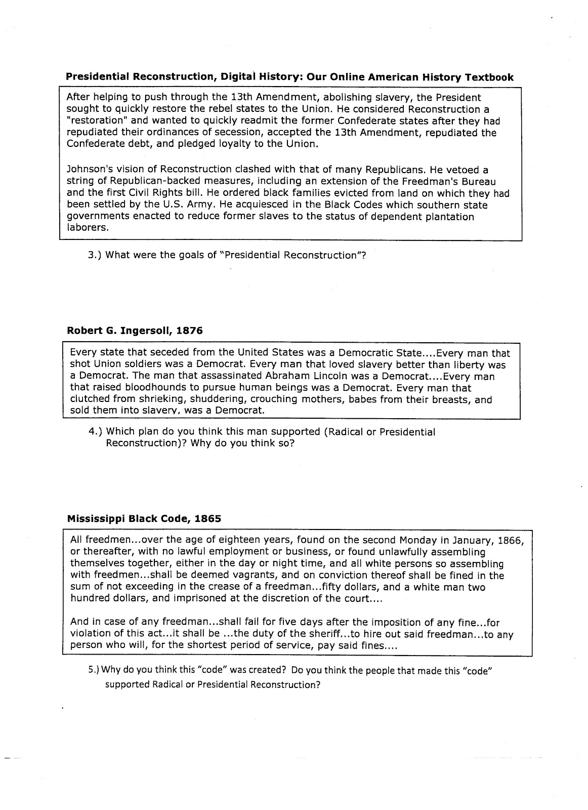 reconstruction era essay essay about paper essay about paper  reconstruction essay sbq essay reconstruction era