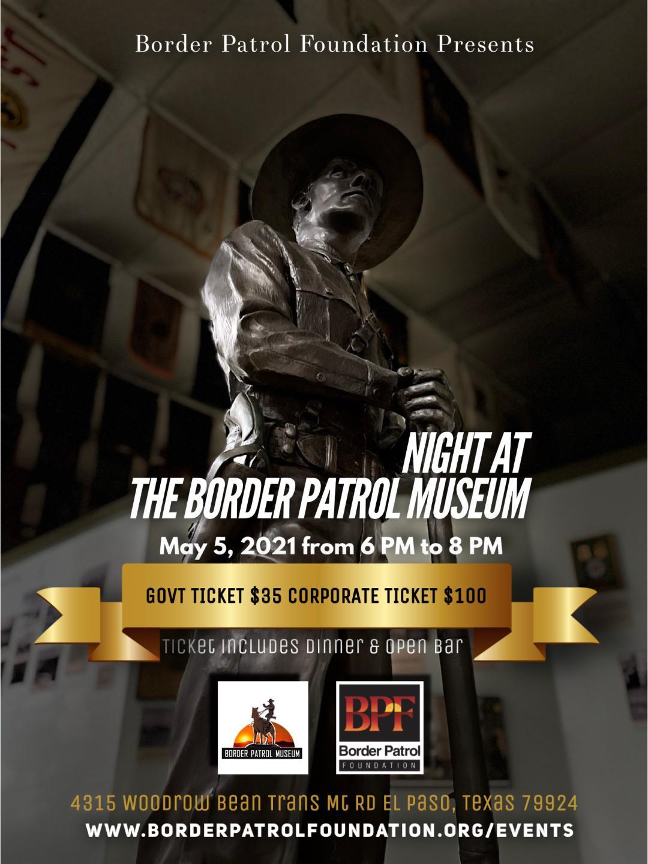 'Night at the Border Patrol Museum'
