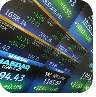 stocks tape widget app