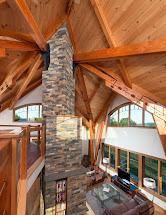 Timber Frame Open Floor Plans