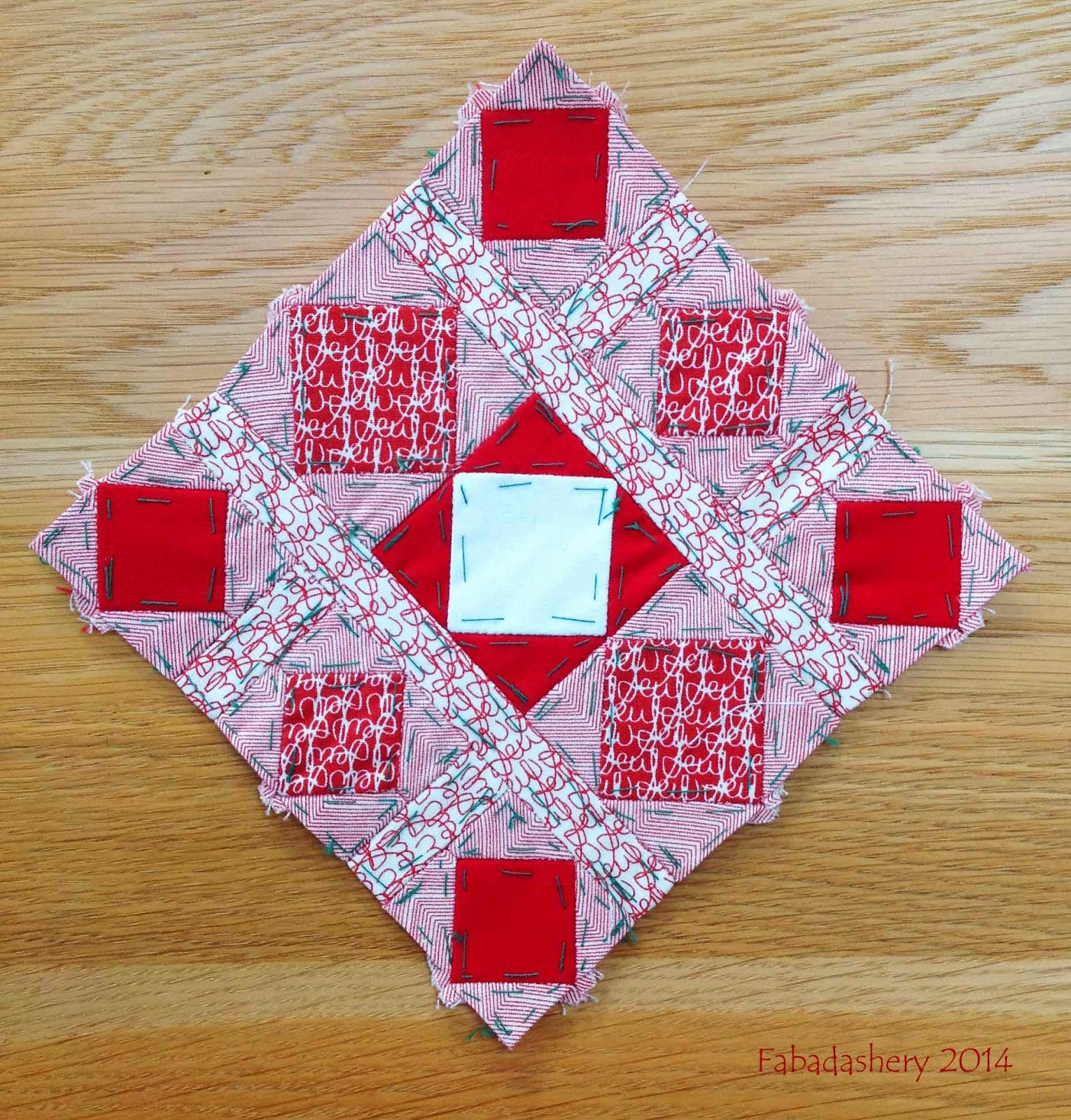 Nearly Insane Quilt - Block 62 (Redone)