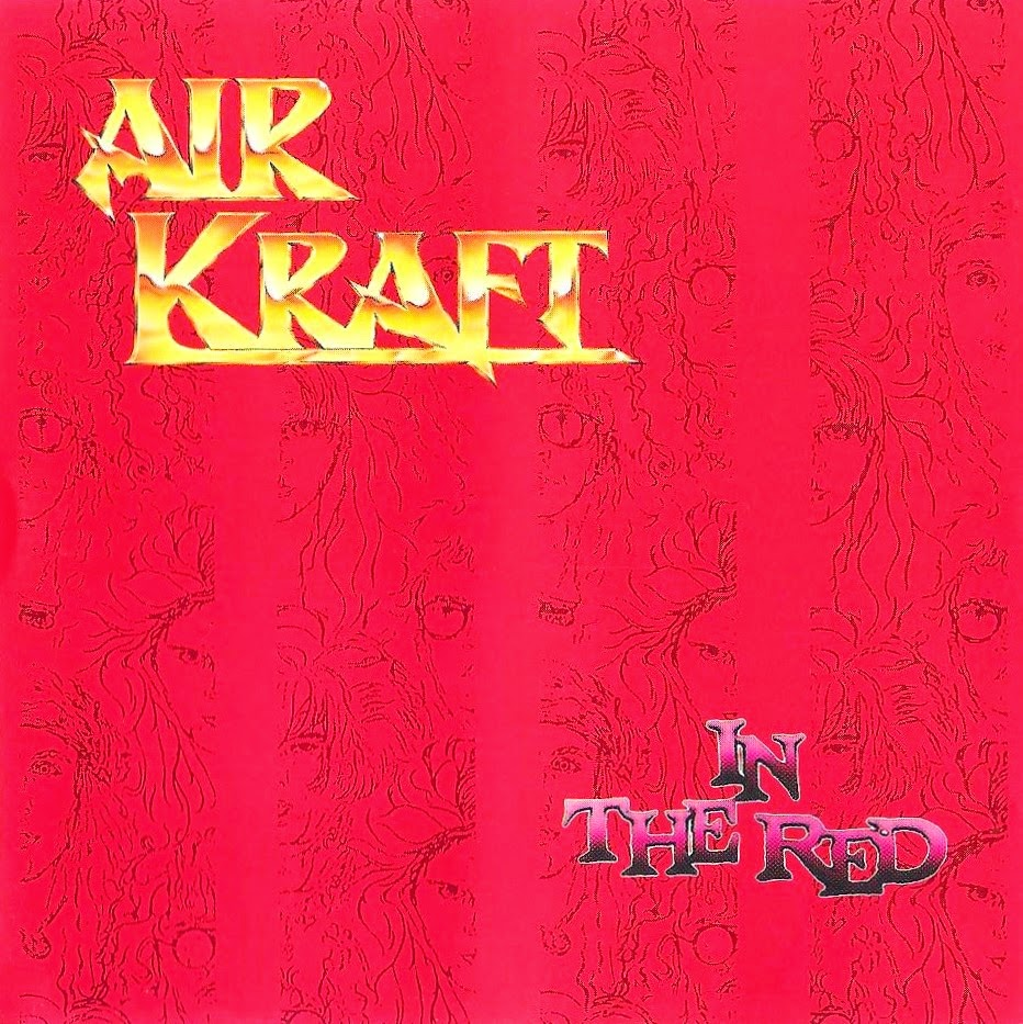 Airkraft In the red 1991 aor melodic rock music blogspot albums bands