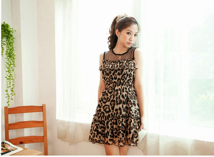 http://www.koees.com/koees-3773-Leopard-Chiffon-dress-temperament.html