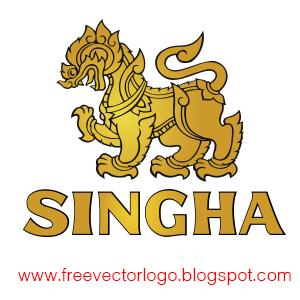 Singha Beer logo vector
