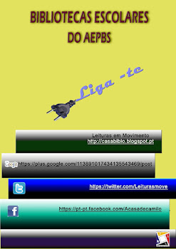 Liga-te às Bibliotecas Escolares do AEPBS