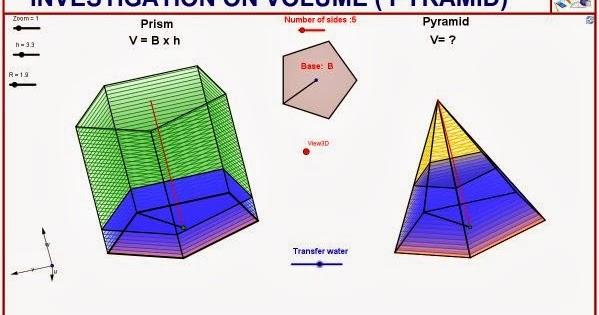 Investigation on pyramid volume