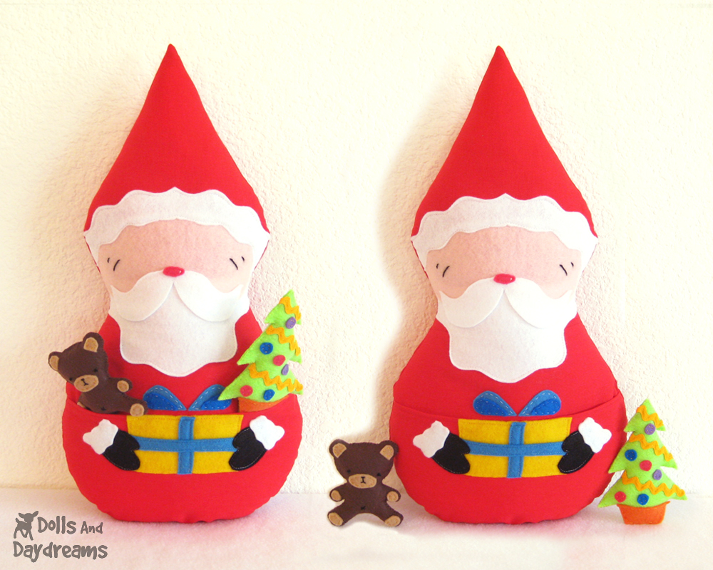 Santa Pattern Santa Claus Pdf Sewing Pattern
