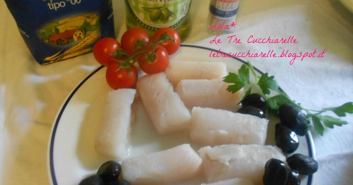 ... Cucchiarelle: Merluzzo con pomodorini, olive al sale blu di Persia