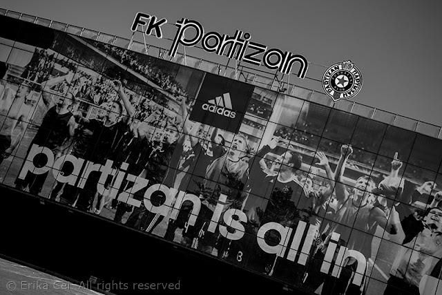 Belgrado stadio Partizan