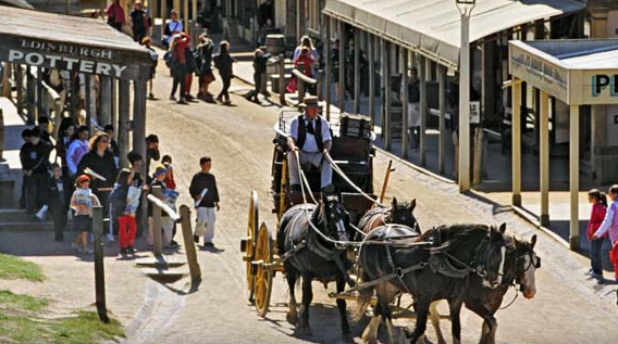 Sovereign Hill in Ballarat,
