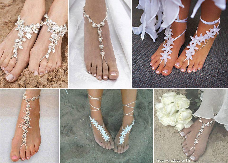zapatos de boda en playa - foro moda nupcial - bodas.mx