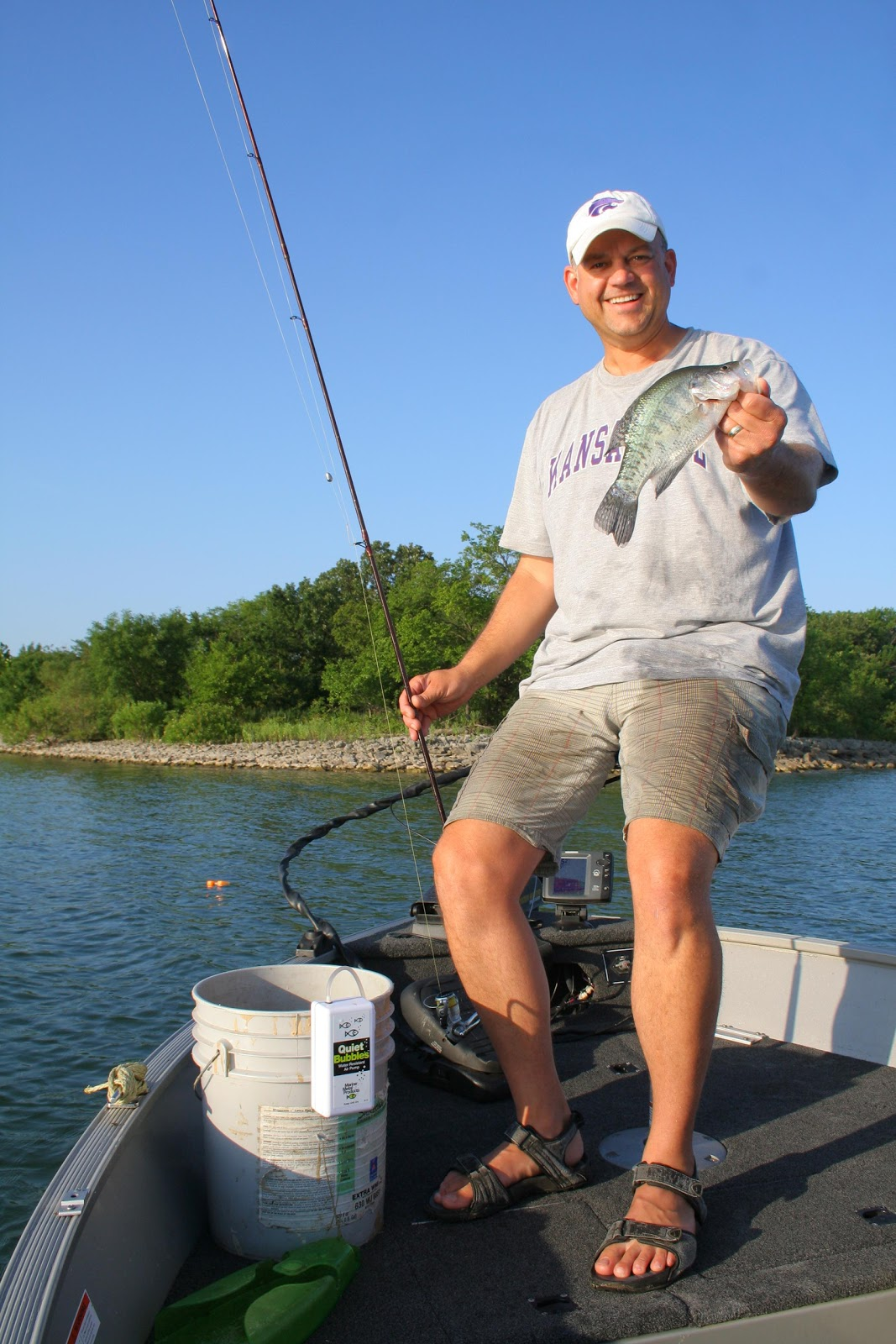 The great outdoors with marc murrell minnow smackdown for Crappie fishing with minnows