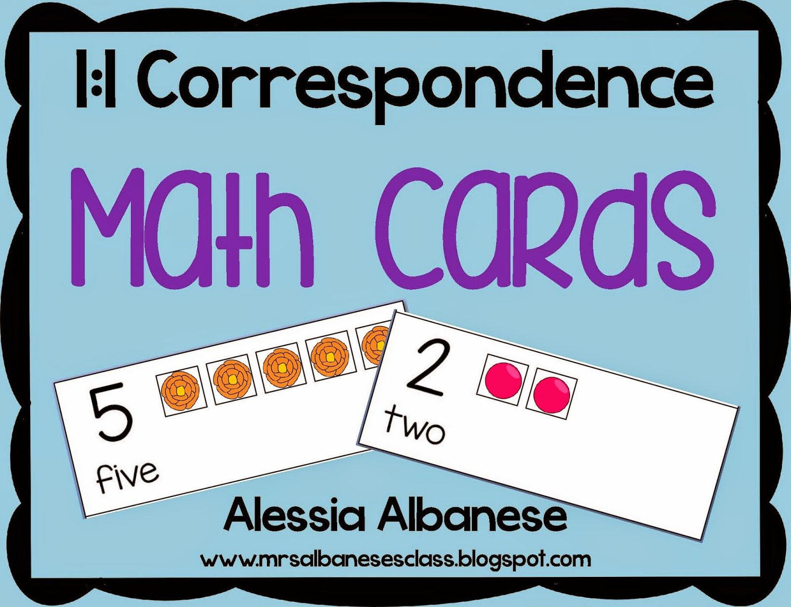http://www.teacherspayteachers.com/Product/Math-Cards-11-Correspondence-FREEBIE-1441621
