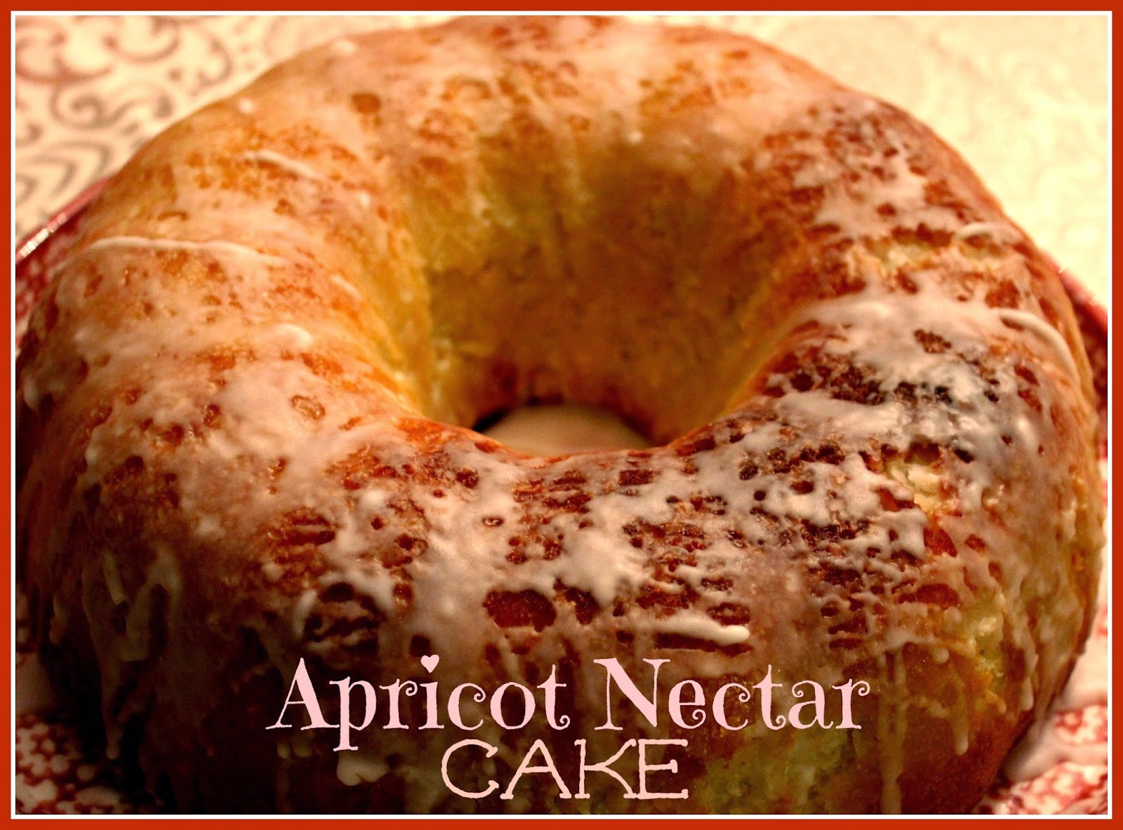 Recipes apricot nectar cake