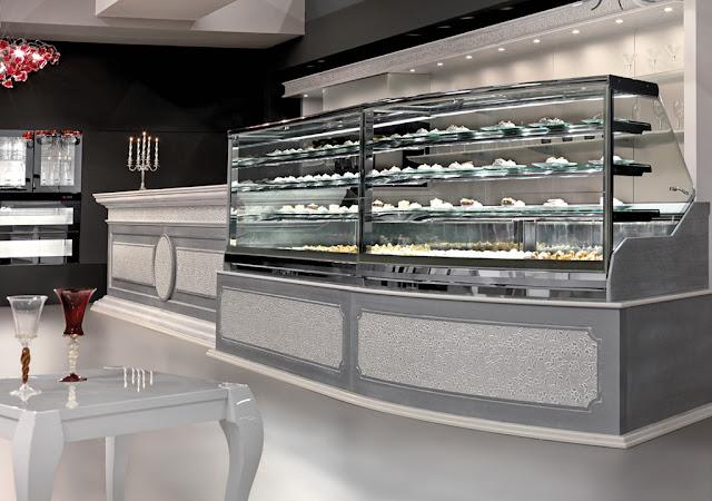 Design e technology ciam per bar e pasticcerie degart for Arredo bar napoli