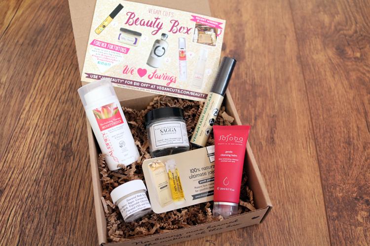 Vegan Cuts Beauty Box January 2016 review