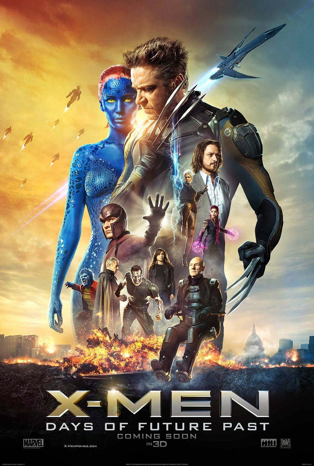 Download Film X-Men Days of Future Past (2014)