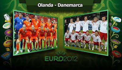 OLANDA DANEMARCA EURO 2012 9 iunie live online Dolce Sport tv pe internet Campioantul european de fotbal