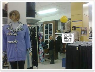 roupas nos manequins