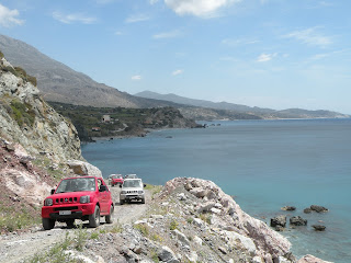 Exploring Crete, Greece by jeep. Photograph by Janie Robinson, Travel Writer