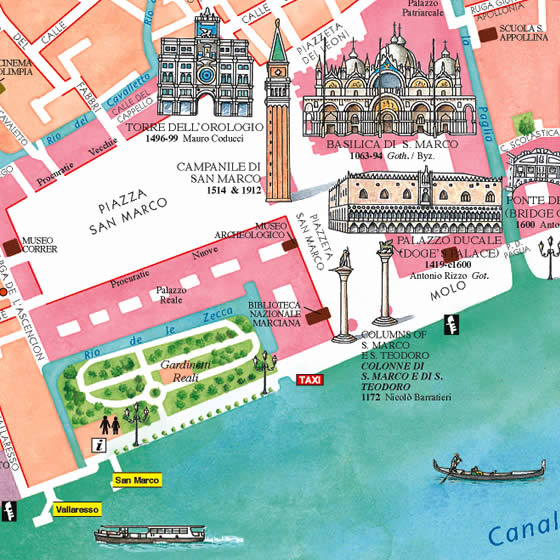 Map Of Venice Italy - Map Illustrated Example