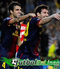 Barcelona vs Celtic 2012