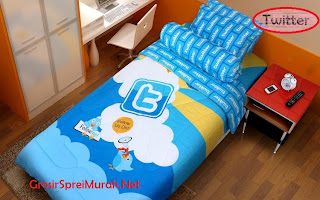 Sprei Murah Kintakun Single Twitter